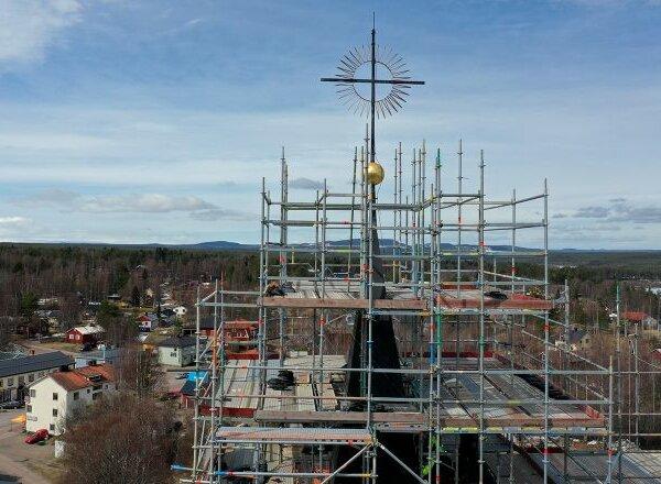 Ny tid väntar Särna kyrka – omfattande renovering inledd